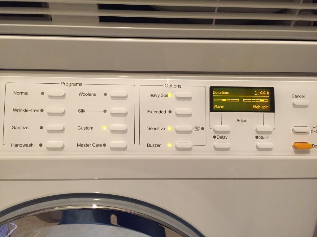 Perwoll Black washing cycle