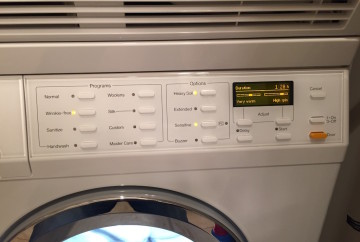Persil ProClean 2in1 wash cycle