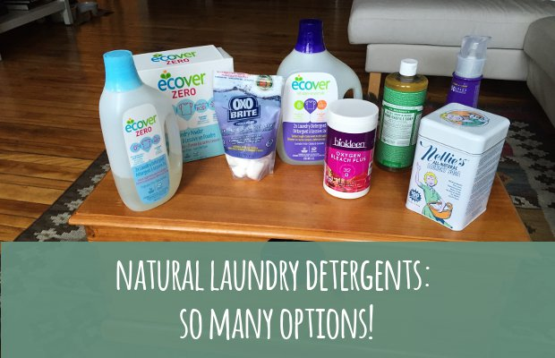 Natural Laundry Detergents Banner