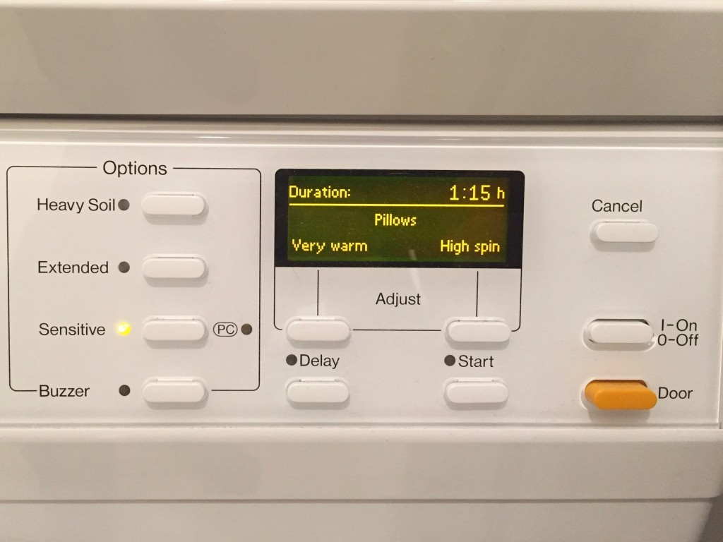 Washer Settings