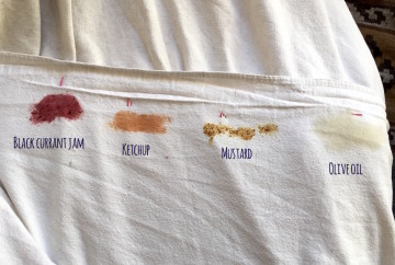 Persil ProClean 2in1 stains closeup