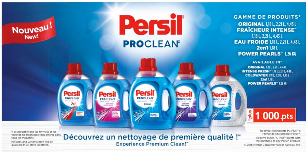 Experience a premium clean and extra stain-fighting power with Persil ProClean Power-Liquid 2in1 Liquid Laundry Detergent. with the power-packed combination of Persil detergent plus Pro-Lift Technology, Persil ProClean 2in1 is the most powerful stain-fighting Persil detergent available.