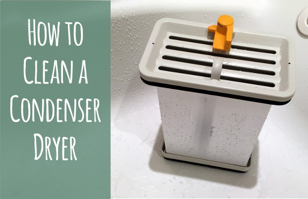 how to clean a condenser dryer