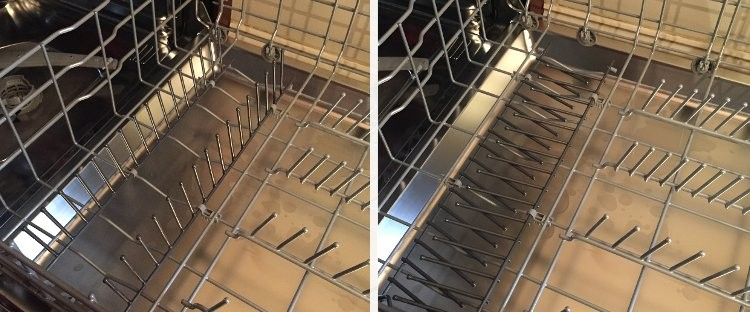 Bosch dishwasher folding tines