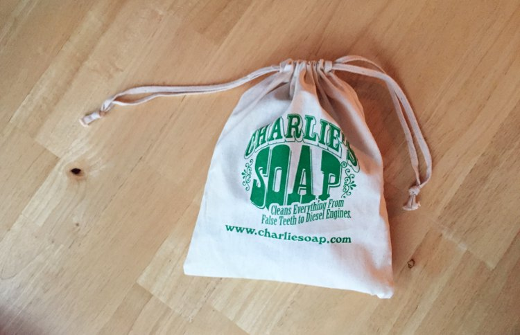 Charlie's Soap Travel Bag