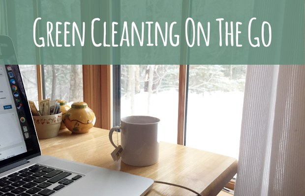 Green cleaning on the go